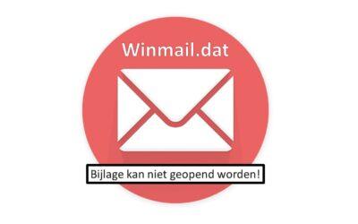 Wat te doen als je e-mailbijlage plots een  winmail.dat-bestand wordt?